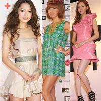 Thời trang Hàn-Nhật tranh đua quyết liệt