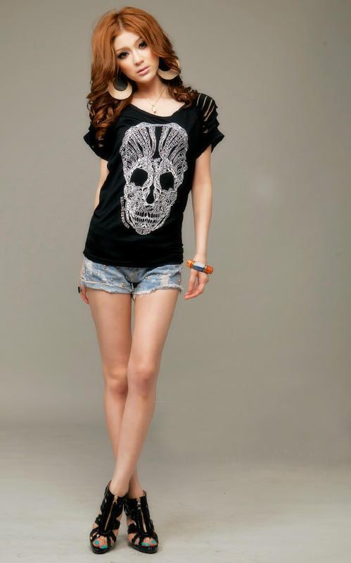 Khảo giá shorts jeans và áo phông mùa hè - 1