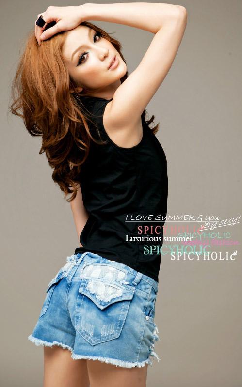 Khảo giá shorts jeans và áo phông mùa hè - 11
