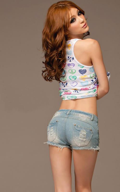 Khảo giá shorts jeans và áo phông mùa hè - 16