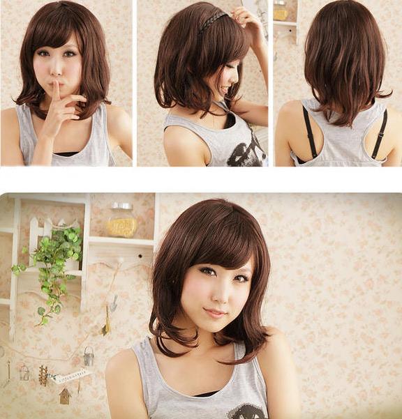 Làm mới mình với 5 kiểu tóc giả dễ thương, Thời trang, Thoi trang toc, toc gia, toc xoan, toc thang, toc bui, toc duoi ga