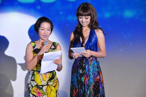 Jennifer Phạm nhợt nhạt với váy xanh - 8