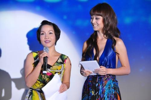 Jennifer Phạm nhợt nhạt với váy xanh - 9