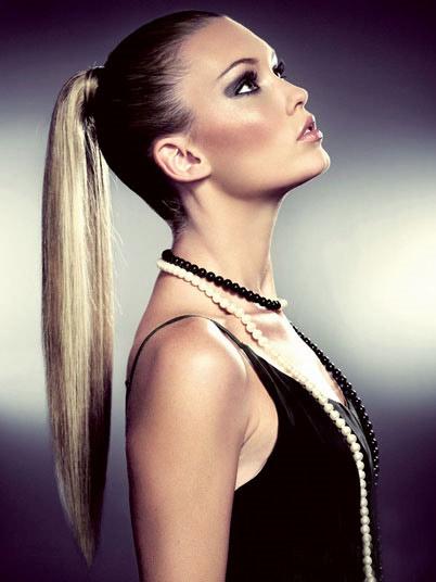 Mẹo làm tóc đuôi ngựa đẹp và sành - 1