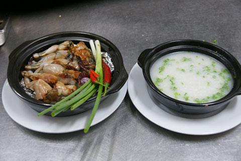 Cháo ếch kiểu Singapore thơm ngon, bổ dưỡng - 2