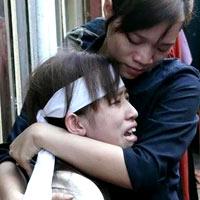 Vụ công an bị bắn chết: Mối tình buồn