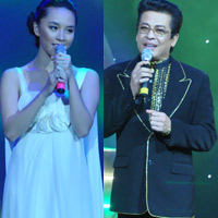 Thanh Bạch, Thiên Lý khoe giọng hát