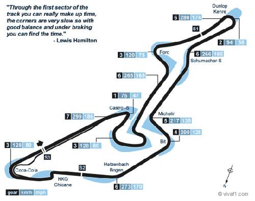 F1 – German GP: Giới thiệu đường đua German GP - 1