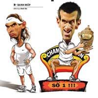 Tennis 8 (P1): Cách nào để trị Djokovic?