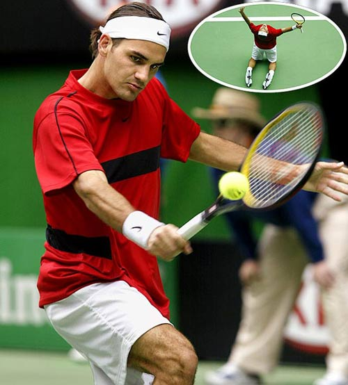Federer: 3 Grand Slam ng nh nht, Th thao, Federer, Grand Slam, tau toc hanh, Wimbledon, Australian Open, Roland Garros, tennis, the thao