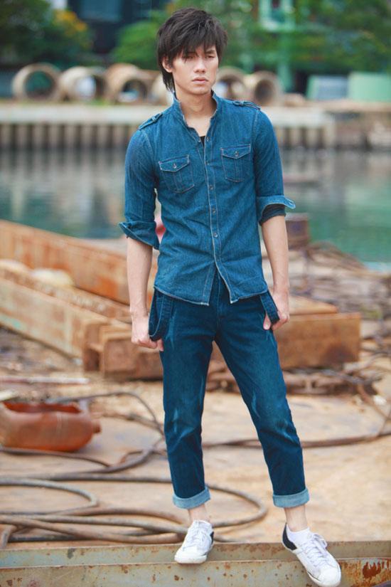 Nhan Phúc Vinh bụi bặm với jeans - 2