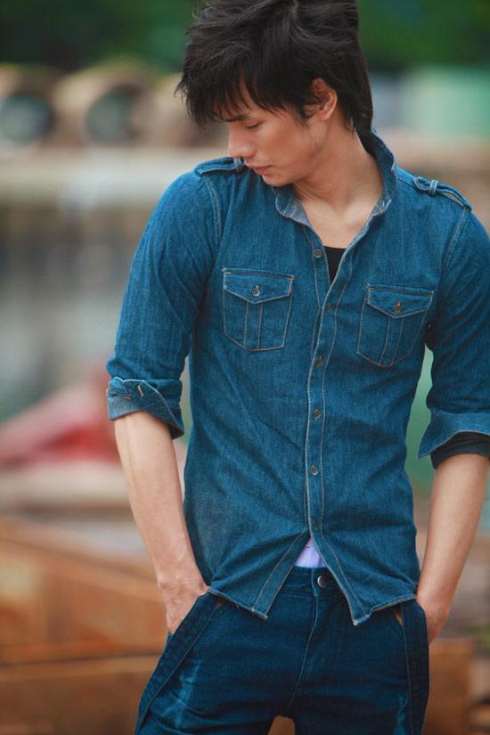 Nhan Phúc Vinh bụi bặm với jeans - 3
