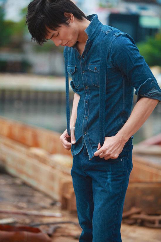 Nhan Phúc Vinh bụi bặm với jeans - 5