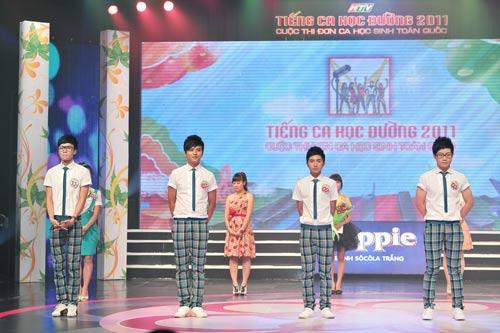 4 thí sinh rời Tiếng ca học đường 2011 - 14