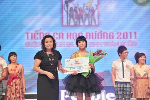 4 thí sinh rời Tiếng ca học đường 2011 - 7