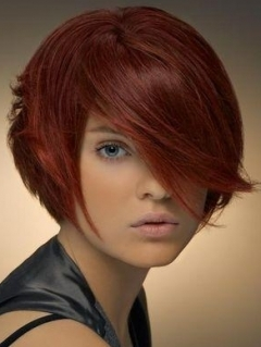 Kiểu tóc ngắn cho gương mặt tròn - 8