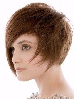 Kiểu tóc ngắn cho gương mặt tròn - 5