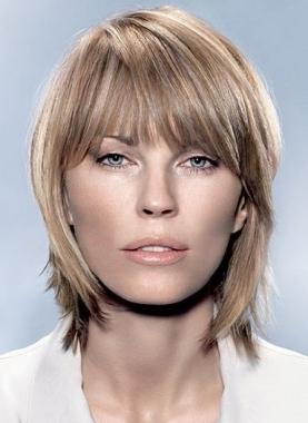 Kiểu tóc ngắn cho gương mặt tròn - 2