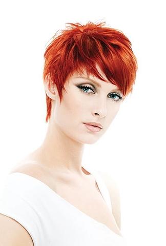 Kiểu tóc ngắn cho gương mặt tròn - 15