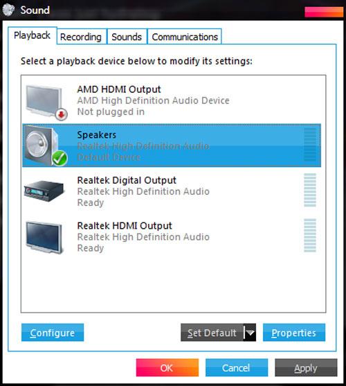 Cách xử lý khi máy tính đột ngột mất tiếng - 3