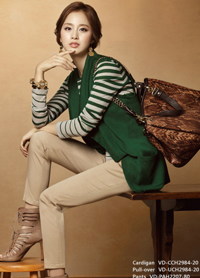 Ngắm thời trang hiện đại của Kim Tae Hee - 2