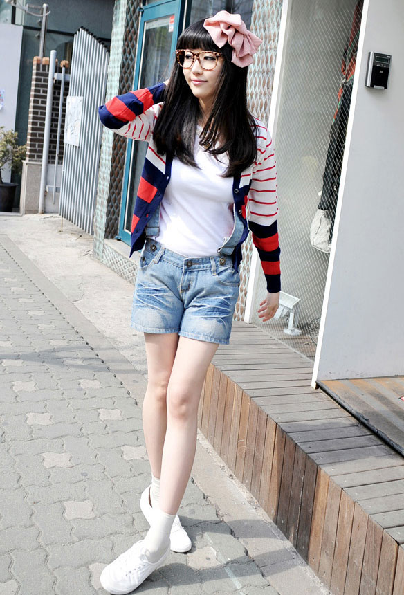 Jumper và jumsuit jeans phong cách - 1