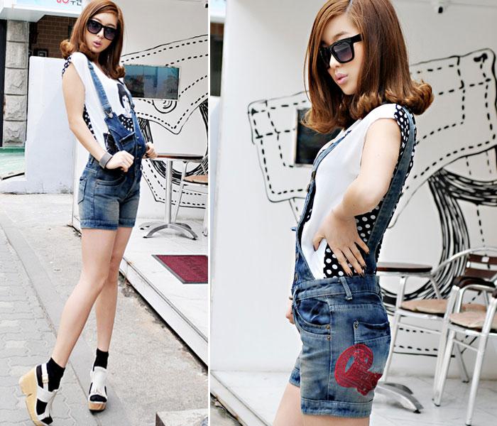 Jumper và jumsuit jeans phong cách - 10