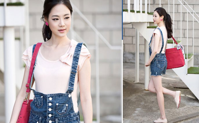 Jumper và jumsuit jeans phong cách - 11