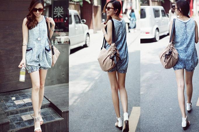 Jumper và jumsuit jeans phong cách - 16