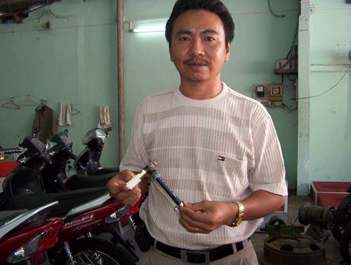 Bộ siêu tiết kiệm xăng xe máy Hoàng Sơn - 3