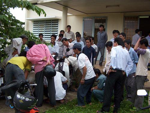 Bộ siêu tiết kiệm xăng xe máy Hoàng Sơn - 8