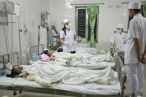 Hỏa hoạn ở Hải Phòng: Phút kinh hoàng - 1