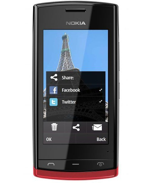 Nokia 500 smartphone tốc độ 1GHz giá mềm - 5