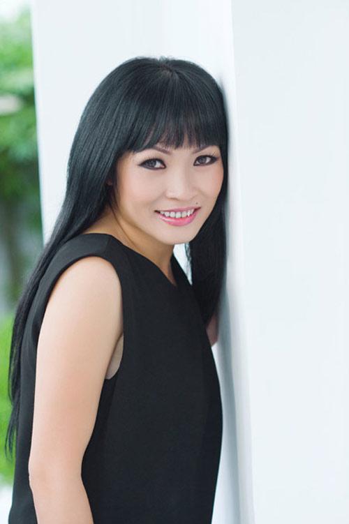 Để tóc mái ngố đẹp như Sao Việt - 6
