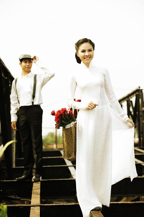 """Vân Trang """"cưới"""" kiểu xưa & nay - 6"""
