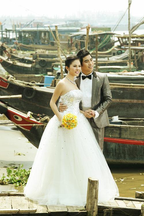 """Vân Trang """"cưới"""" kiểu xưa & nay - 14"""