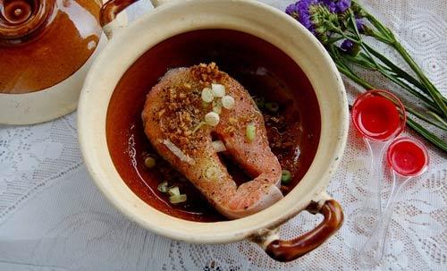 Cá hồi kho tiêu: Ăn với cơm thật tuyệt - 2