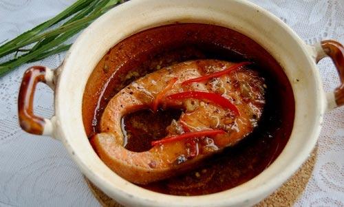 Cá hồi kho tiêu: Ăn với cơm thật tuyệt - 4