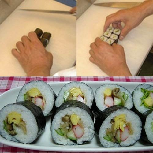 Cuối tuần khéo tay làm cơm cuộn sushi chay - 5