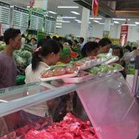 TP.HCM: Giá thực phẩm giảm nhiệt