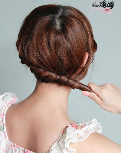Điệu với 2 cách tết tóc mới - 10