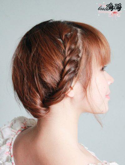 Điệu với 2 cách tết tóc mới - 12
