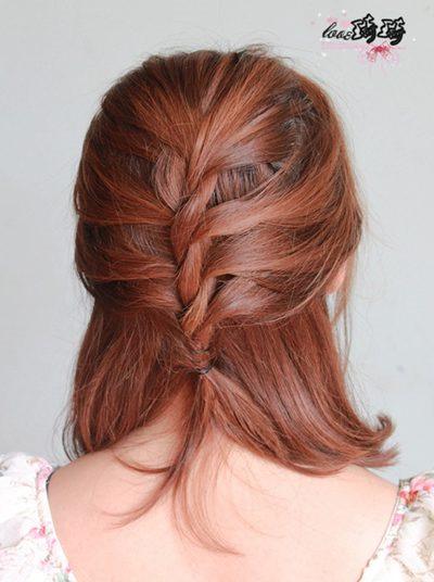 Điệu với 2 cách tết tóc mới - 22