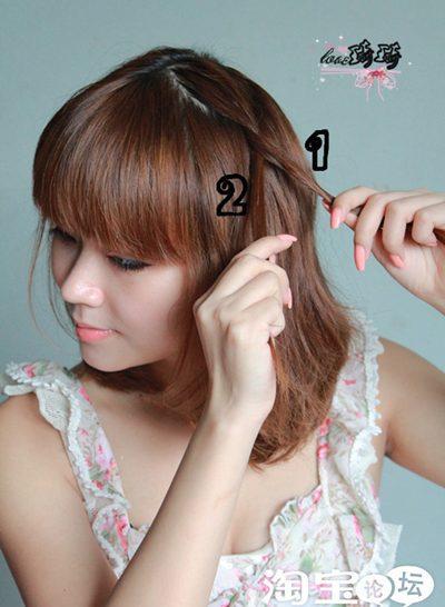Điệu với 2 cách tết tóc mới - 3