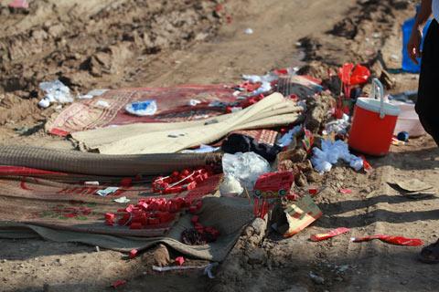 Bốn trẻ em chết đuối tại công trường - 9