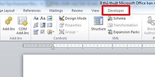 Mẹo độc cho người dùng Microsoft Office, Công nghệ thông tin, Meo doc cho nguoi dung Microsoft Office, meo hay su dung Microsoft Office, Microsoft Office, vi tinh, tin hoc van phong, thu thuat Microsoft Office