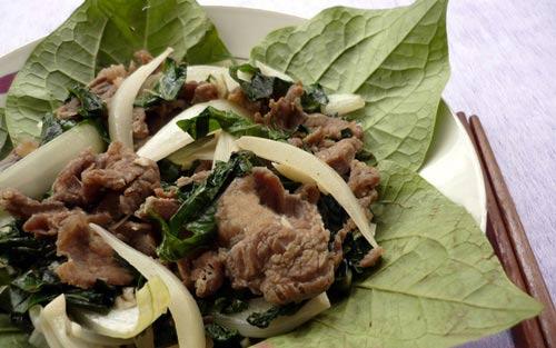 Thật lạ thịt bò xào lá lốt - 8