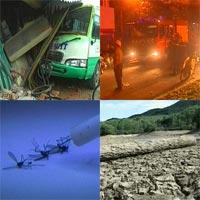 Tai nạn xe buýt liên tiếp ở Phú Yên (Tổng hợp tin HOT 16-8)