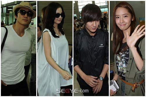 Lee Min Ho lại toả sáng tại sân bay - 8