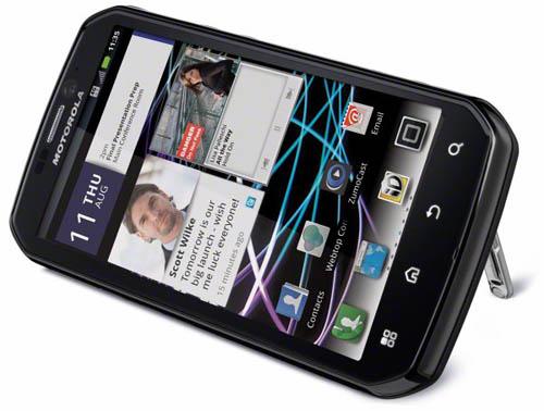 5 smartphone tốt nhất tháng 8/2011 - 2
